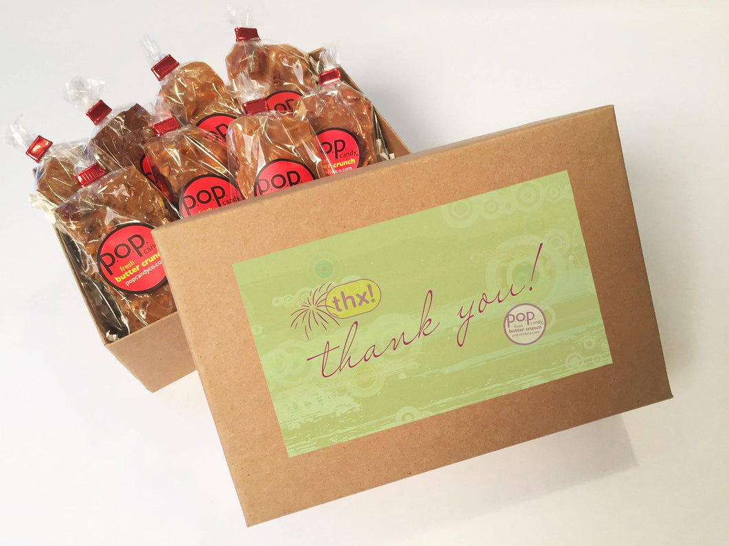 Thank you Gifts | gift box | p.o.p. candy co.