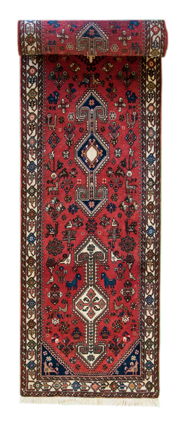 Nasirabad Runner Red 2'8x13