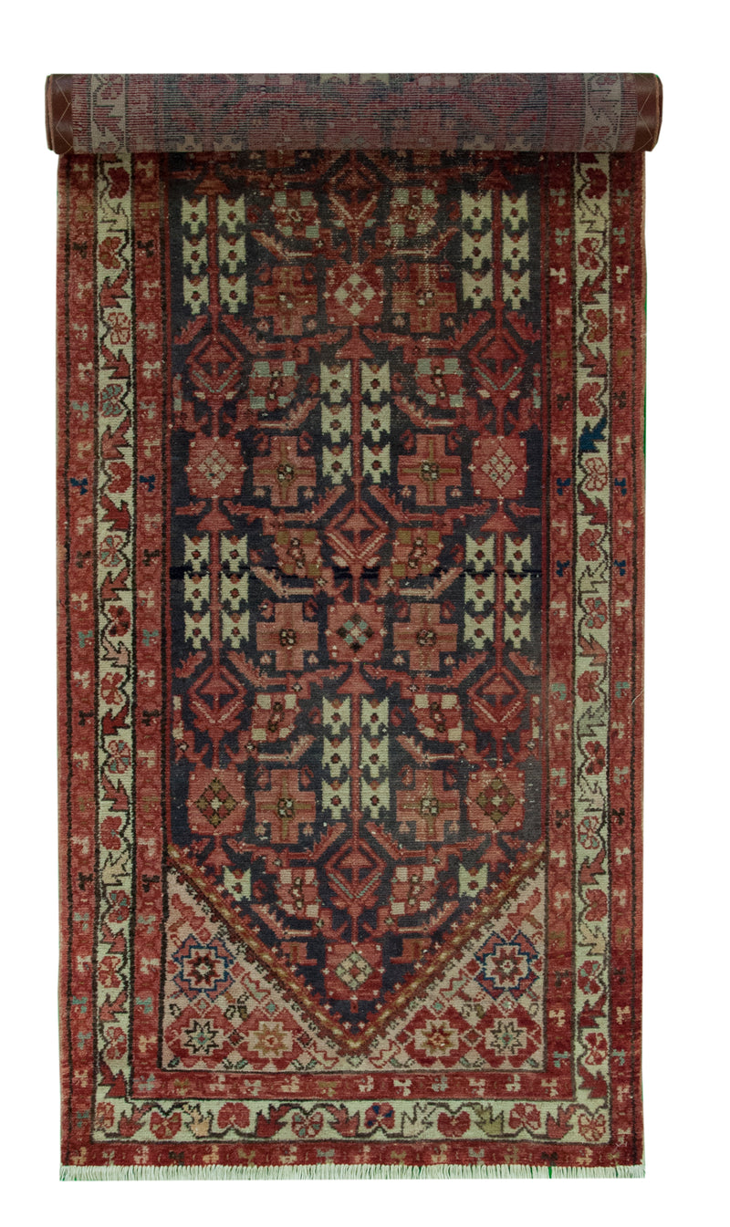 Vintage Malayer Runner 3'6x11'10