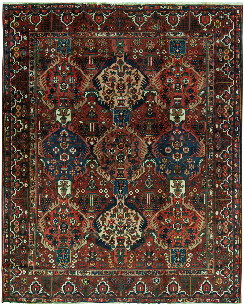 Vintage Persian Malayar Red Runner