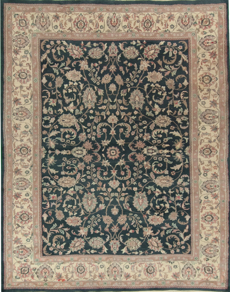 Qom Silk Multi 5x7