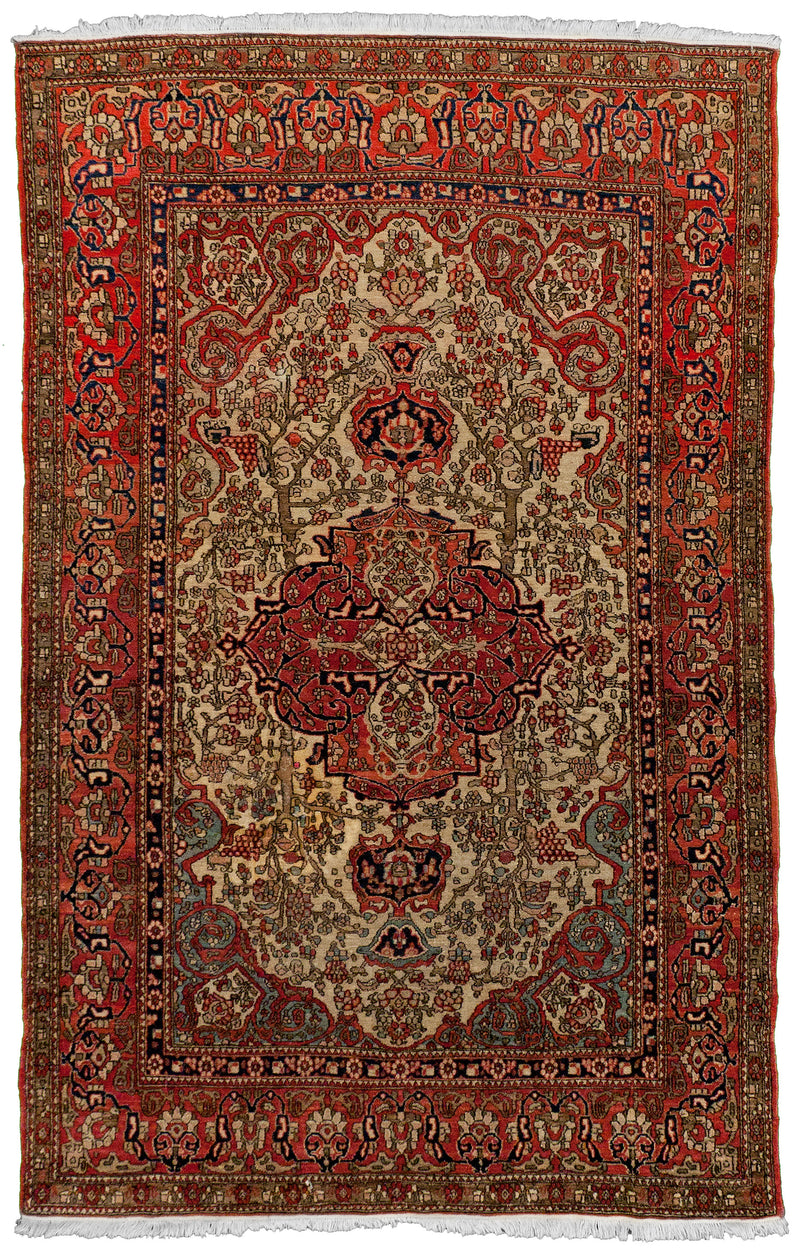 Persian Tabriz Red Runner 2.6 x 12