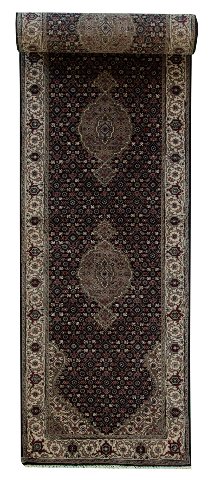 Indo Tabriz Runner Cream 2'7x10'1