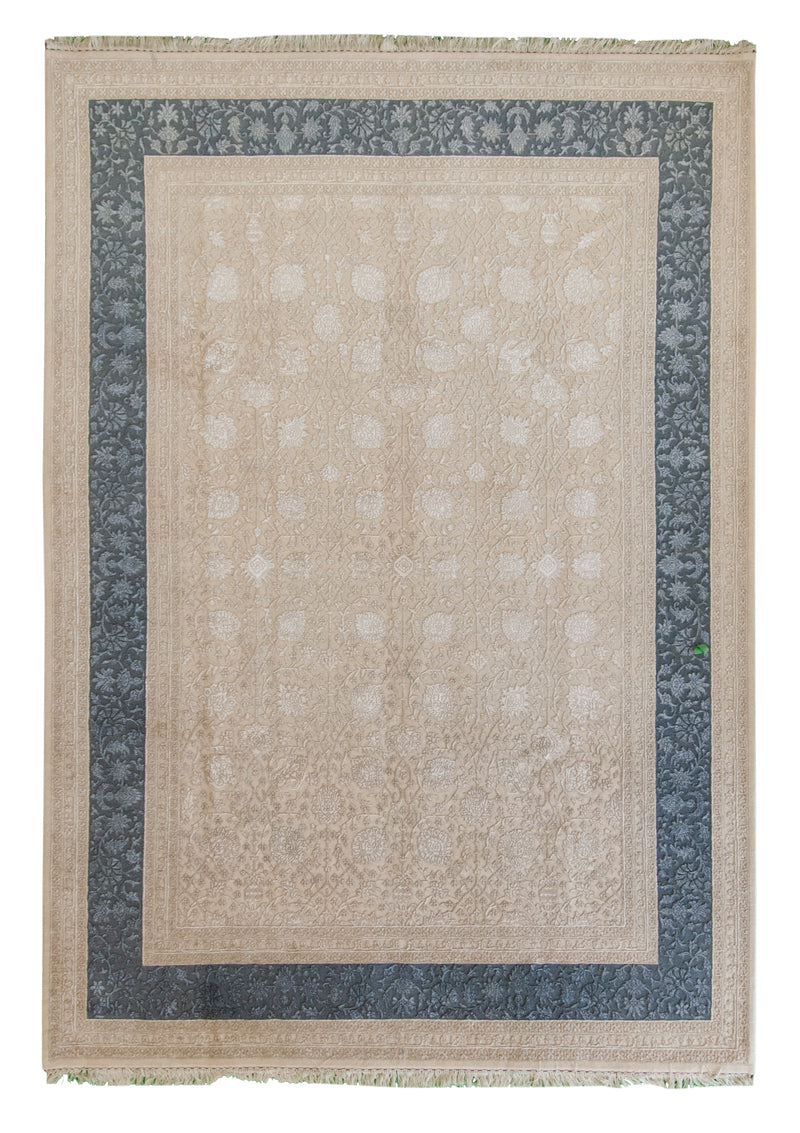 Ganga Collection Beige 6 x 9