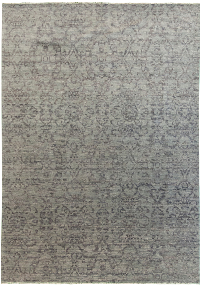 Gabbeh Runner Blue 2'9x9'6