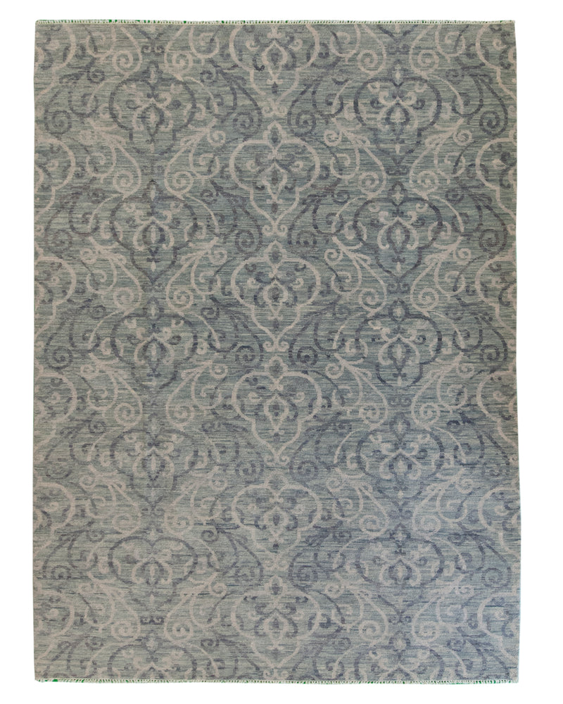 Ganga Collection Grey 9 x 12