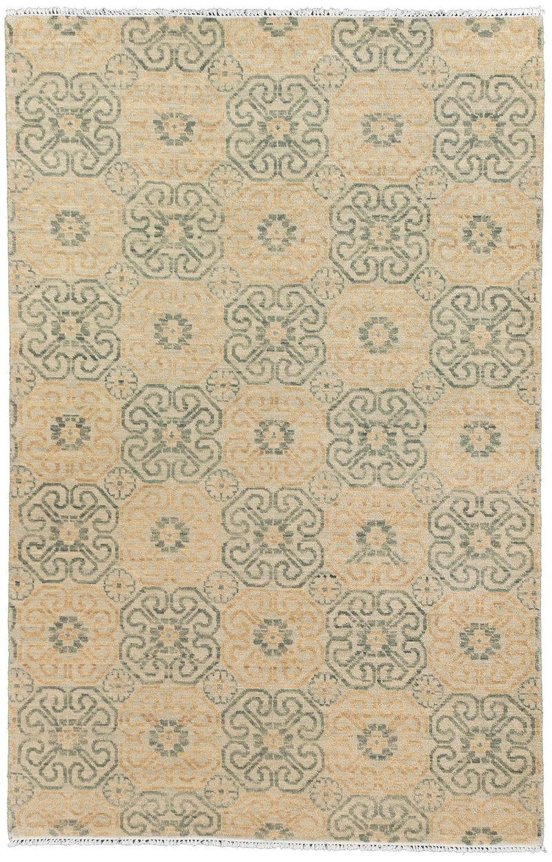 Super Kazak Collection- Cream 3 x 5