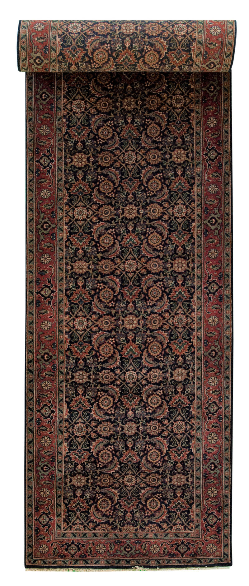 Jaipur Runner Black 2'6x10