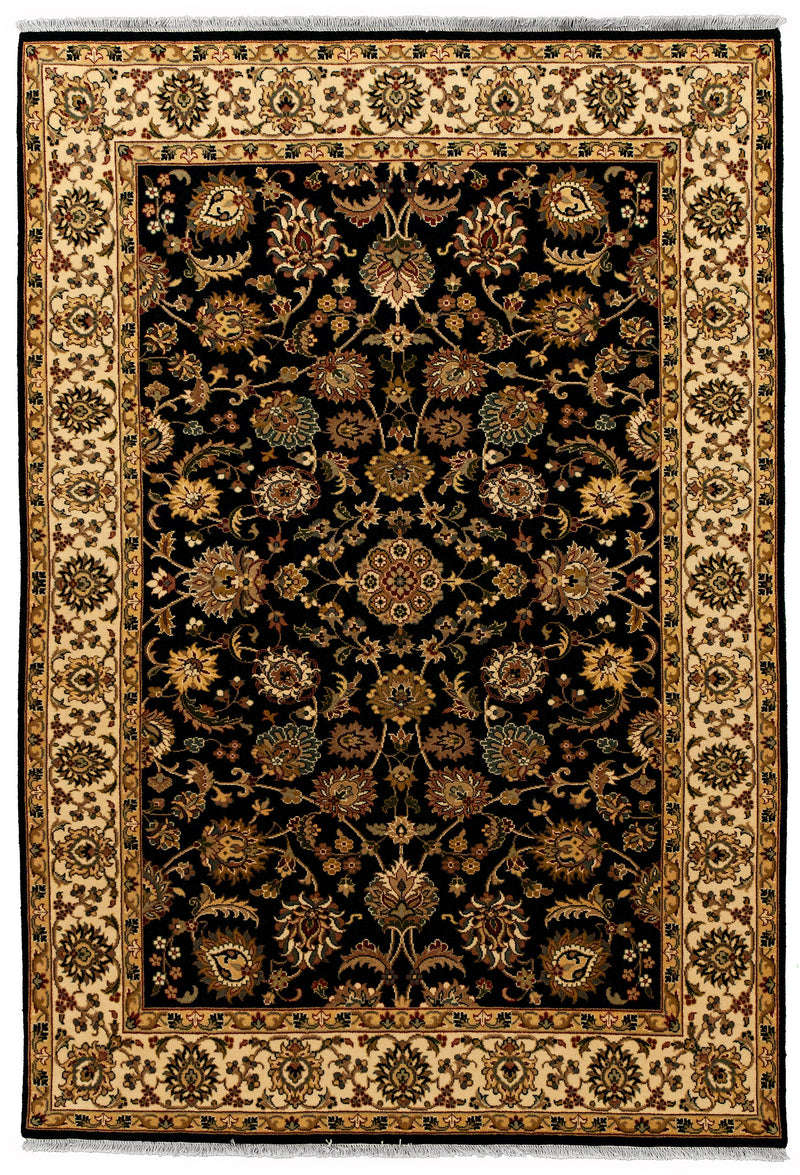 Indo Collection- Isfahan Navy 4 x 6