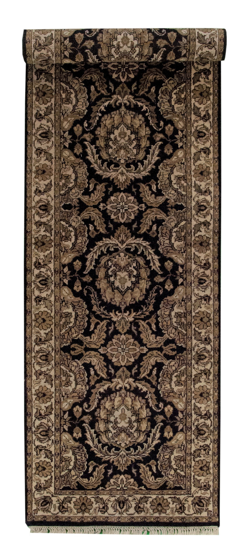 Jaipur Runner Black 2'6x8'2