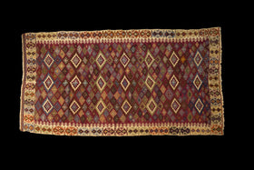 Anatolian Antique Kilim Multi 6x10