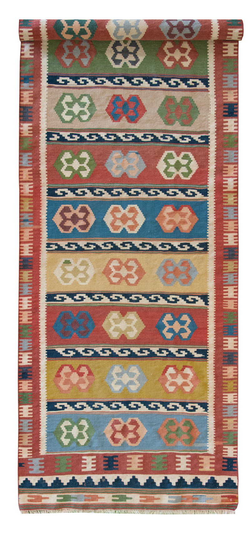 Persian Kilim Runner Multi 2'10x11