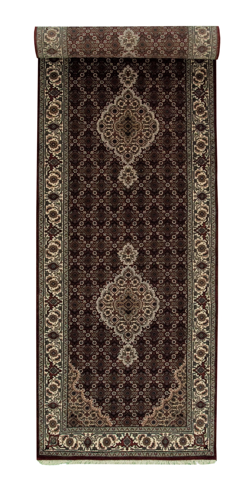 Indo Tabriz Runner Red 2'9x10'1