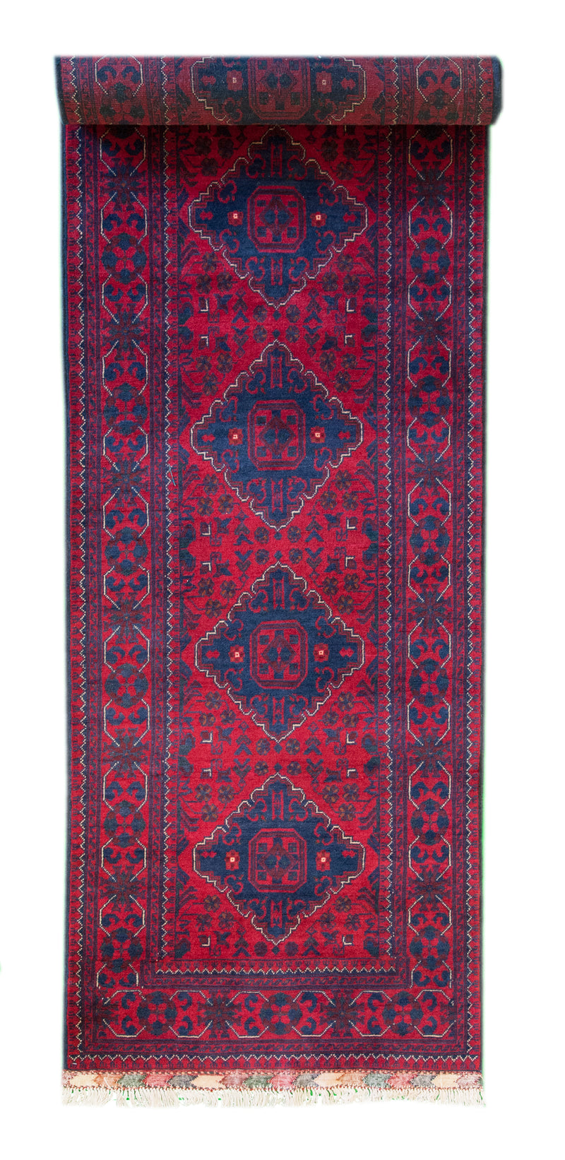 Qundus Runner Red 2'4x9'4