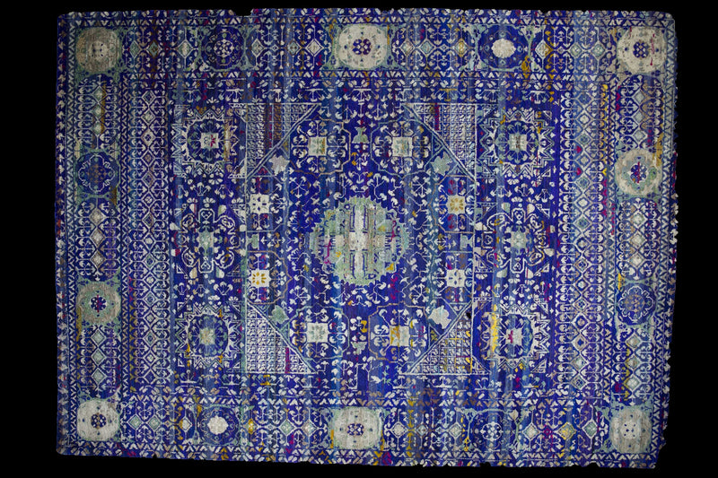 Sari Silk Collection Multi 6x9