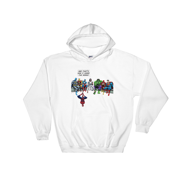 Jesus Saves the World Hoodie