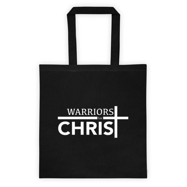 Warriors for Christ Tote bag