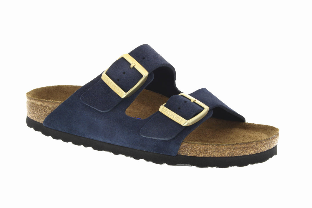Arizona Navy Suede Soft footbed