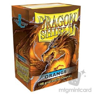 Dragon Shield Sleeves Orange (100ct)