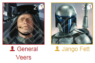 Jango/Veers Star Wars Destiny Deck