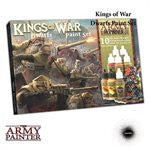 King of War Dwarfs Paint Set