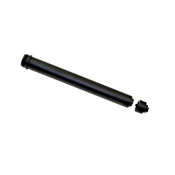 AR-15 A2 Rifle Buffer Tube,  Aluminum Black, with Spacer and Screw