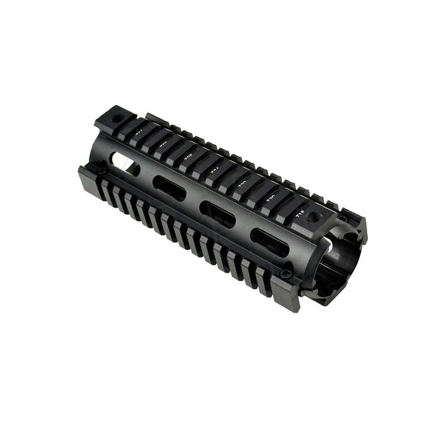 Carbine Length 2pc Drop In Handguard Quad Rail Mount for .223 / 5.56