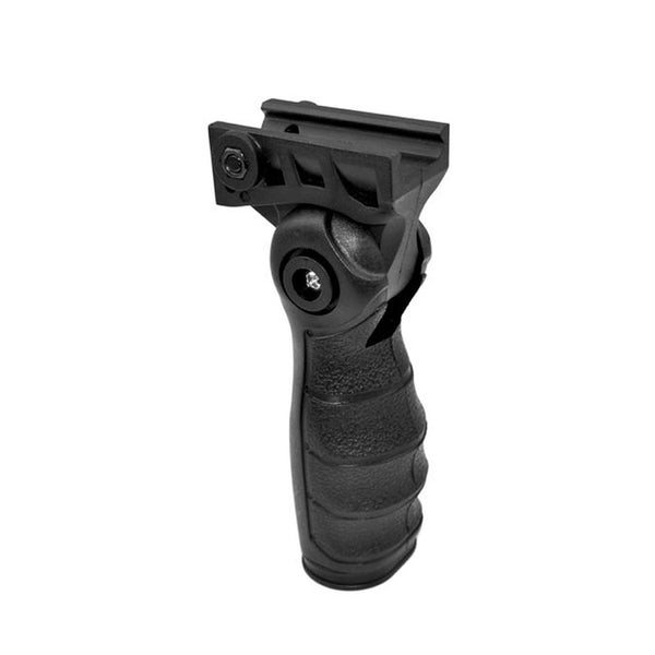 5 Position Adjustable Ergonomics Verticle Foregrip Handy Grip with Storage Compartment