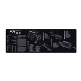 TACPOOL AR-15 Rifle Build Gun Cleaning Mat