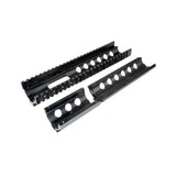 "AR-15 10""  3pc Drop-In Handguard, FSP Cut-Out, Extended Rails, for ROUND End Cap"