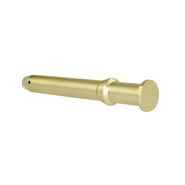 "TACPOOL AR-15 .223/5.56 Rifle Length Recoil Buffer 5.9"", 5.2 OZ Light Gold"