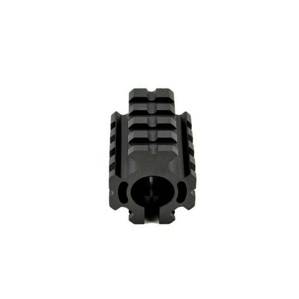 "TACPOOL AR-15 Low Profile 0.750"" Quad Railed Gas Block with Pin for .223"
