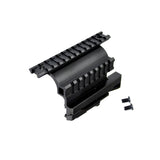 TACPOOL AK-47 Saiga 12/20/223/410 Quick Detachable Double Rails Side Accessory Mount
