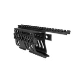TACPOOL Ruger Mini 14/30 Handguard Quad Rail Mount, Aluminum
