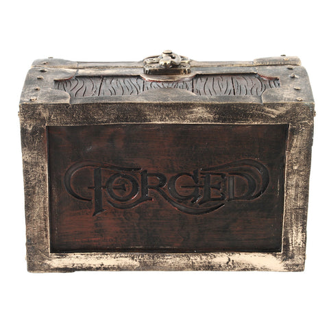 Mimic Chest Dice Storage Box - Container Holds up to 5 Sets of Polyhedral Dice or 35 Individual Dice