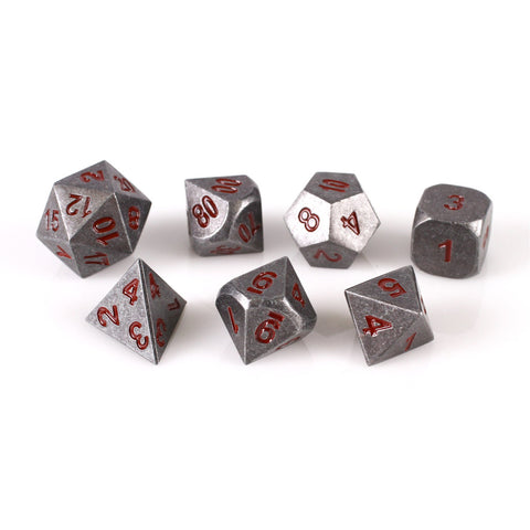 Iron Red Set of 7