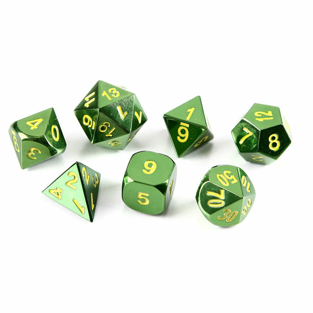 Emerald Green Set of 7