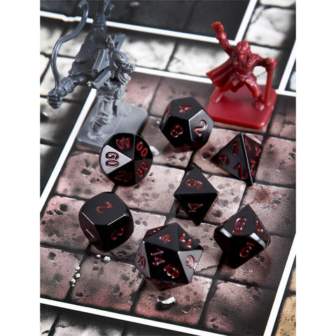 Black Raven Red Set of 7