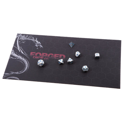 DICE TRAY - Reversible Red and Black Rolling Mat