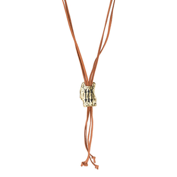 FAITH OF MINE ARROW LARIAT NECKLACE