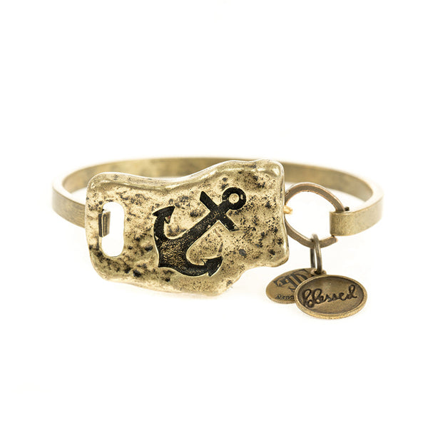 FAITH OF MINE ANCHOR BANGLE