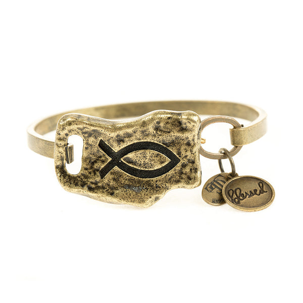 FAITH OF MINE FISH BANGLE