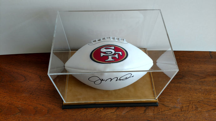 49ers Football - Joe Montana Autograph