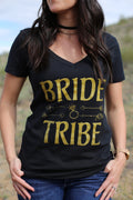 Arrows Bride // Bride Tribe Vneck