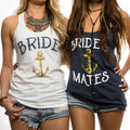 Bride // Mate Of Honor // Bride's Mates Tank