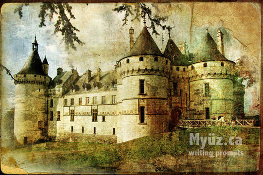 Myuz writing prompt image of king Arthur's castle