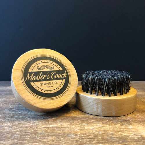 Beard Brush - Military Style Round