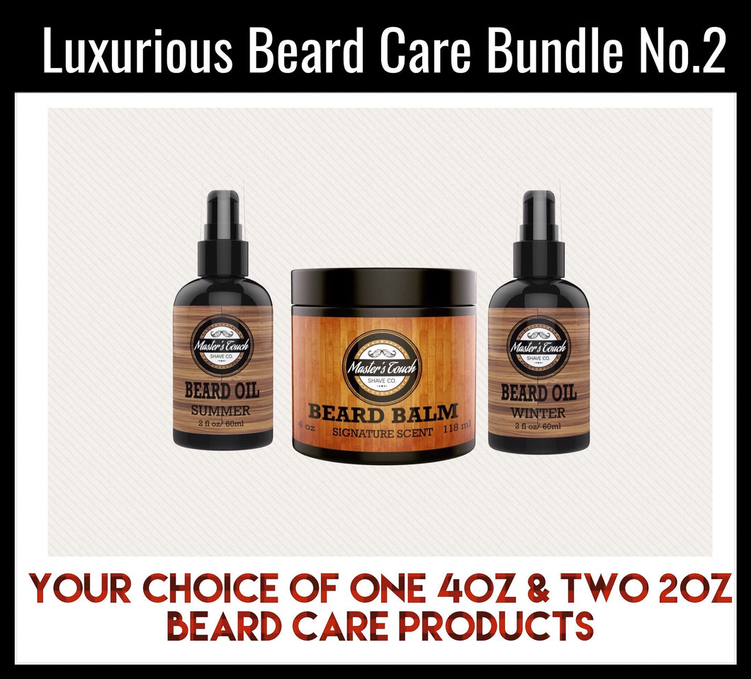 Luxurious Beard Care Bundle No.2