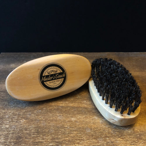 Beard Brush - Military Style Oval