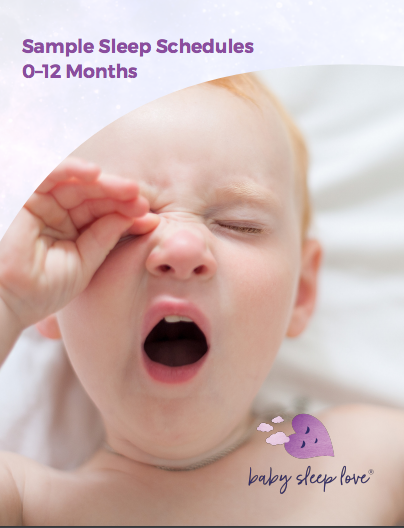 0-12 Month Sample Sleep Schedules From Baby Sleep Love